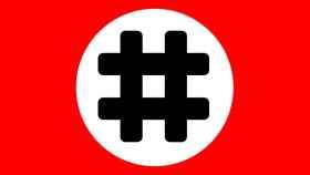 Bandera-hashtag
