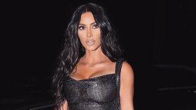 Kim Kardashian en una imagen de redes sociales.