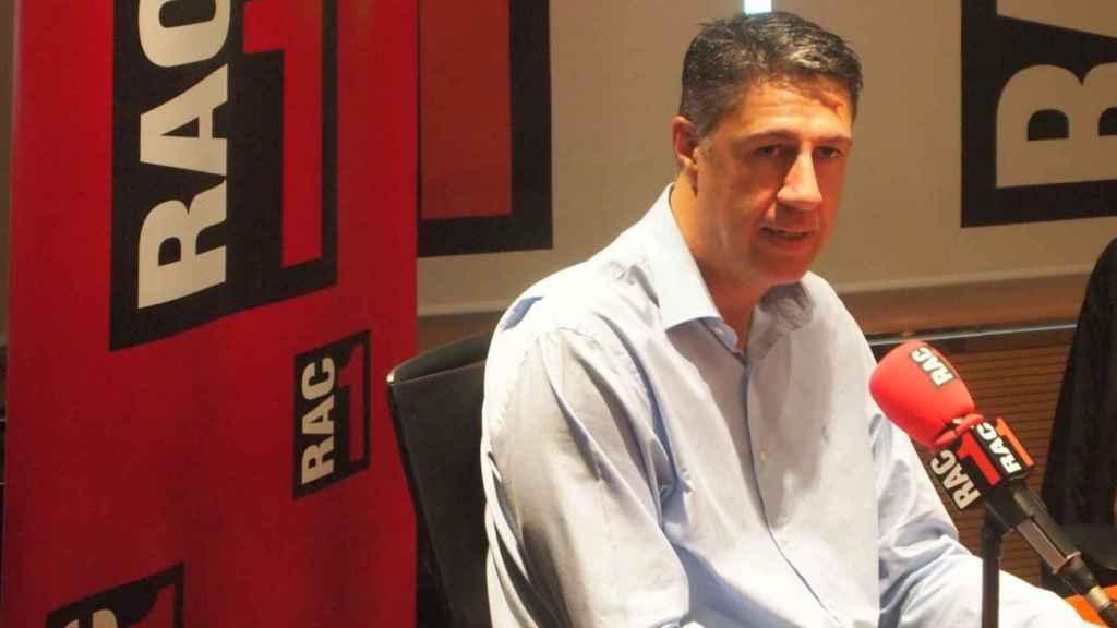 Xavier García Allbiol en los estudios de RAC1.