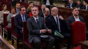 Los acusados en el juicio al 'procés'./