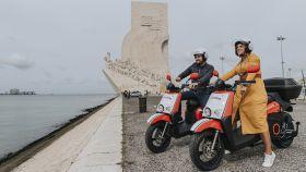 Motos de Acciona en Lisboa.