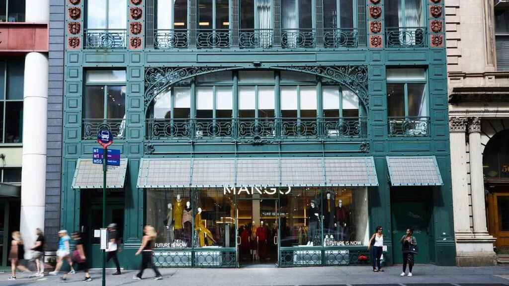 La tienda de Mango en el SoHo de Nueva York.