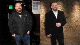 Pepón Nieto en una imagen de hace tres años (izquierda) y en una imagen reciente (derecha).