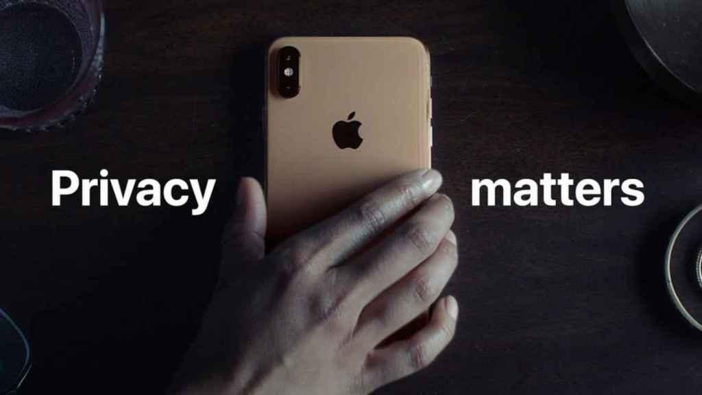 La privacidad siempre ha sido importante en el marketing de Apple