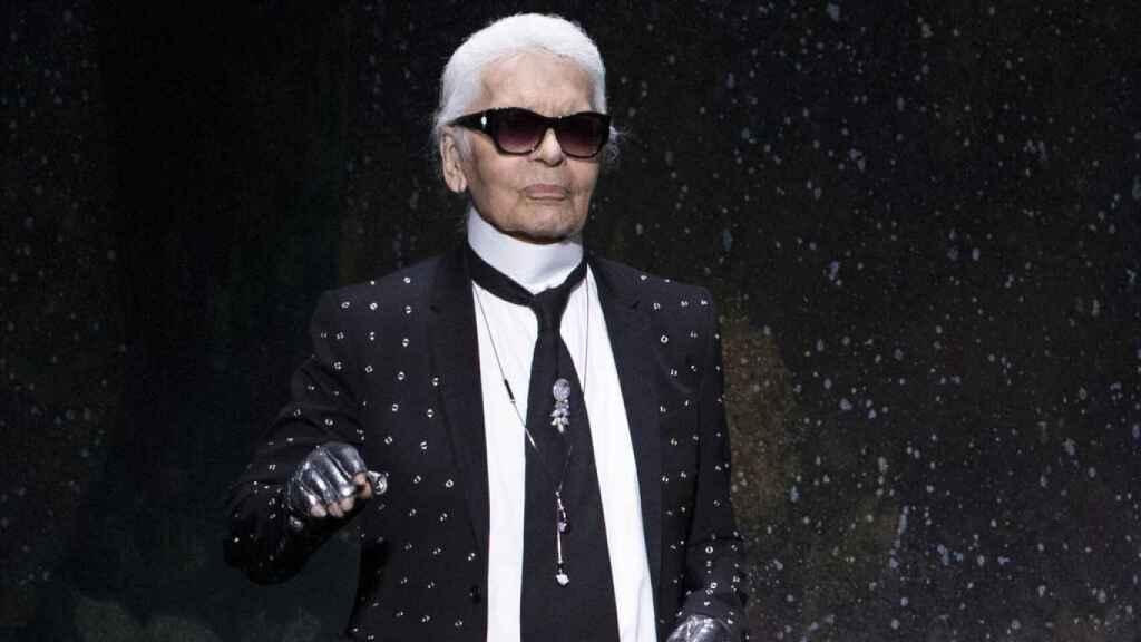 El diseñador Karl Lagerfeld falleció en febrero de 2019.