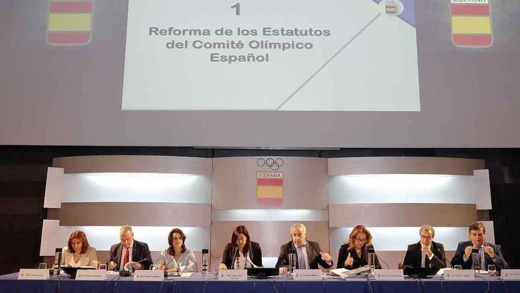 La Asamblea del COE. Foto: coe.es