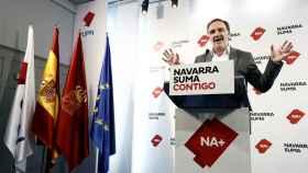 El candidato de Navarra Suma a la Presidencia del Gobierno foral, Javier Esparza.