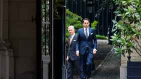 El rey Felipe ha recibido este miércoles a Tom Van Grieken, el líder del ultra Vlaams Belang