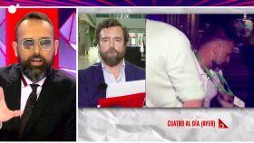 El cabreo de Risto Mejide con Espinosa de los Monteros: Usted no me da ninguna lección
