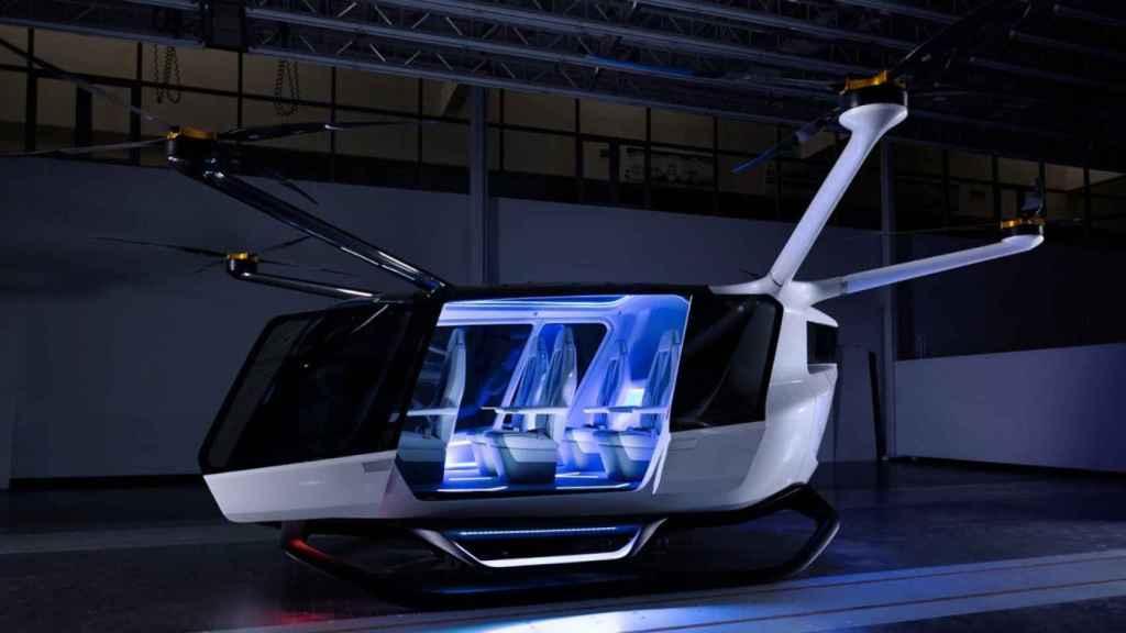 taxi volador hidrogeno 1