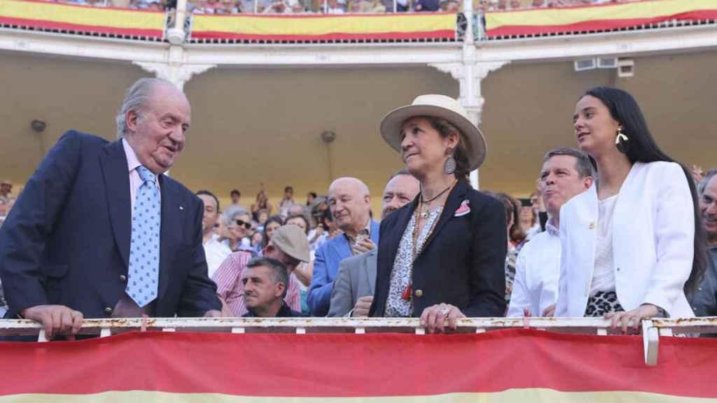 Juan Carlos I, en su último acto público y oficial.