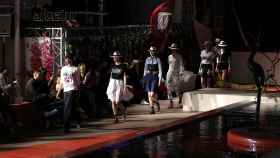 Desfile de Alvarno en la pasarela de Ibiza del año pasado.