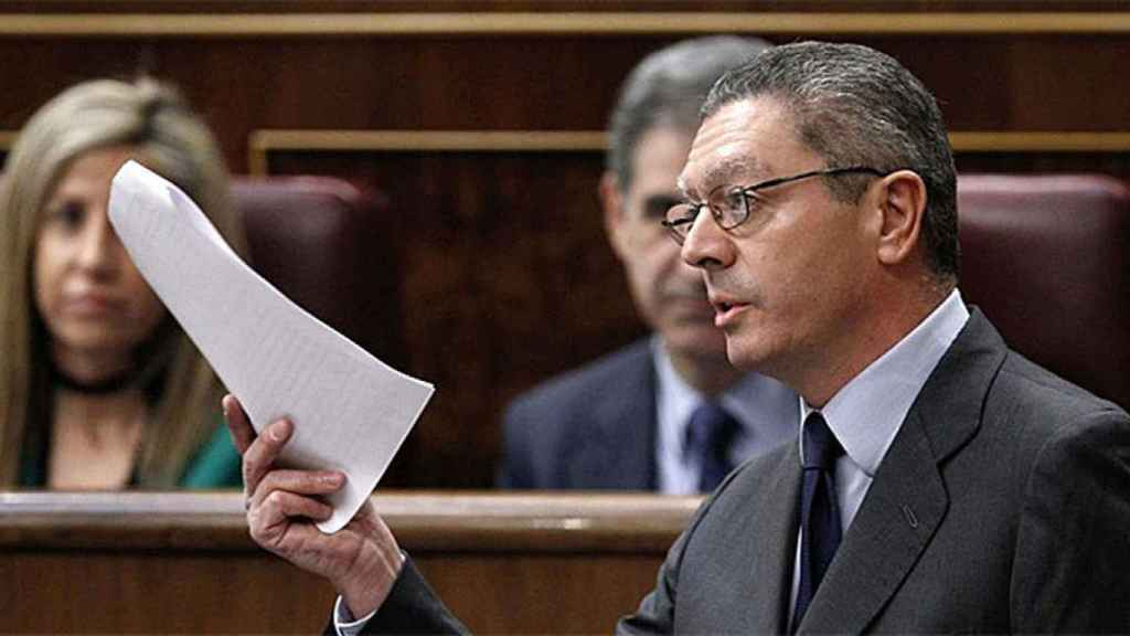 Alberto Ruiz-Gallardón.