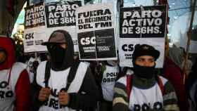 Macri afronta su quinta huelga general a cinco meses de las elecciones en Argentina