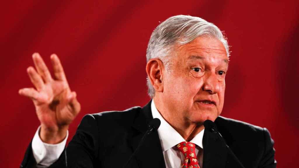 El presidente de México, López Obrador.