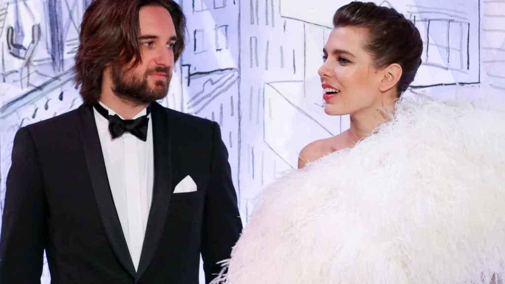 Dimitri y Carlota en la 64 edición del Baile de la Rosa.