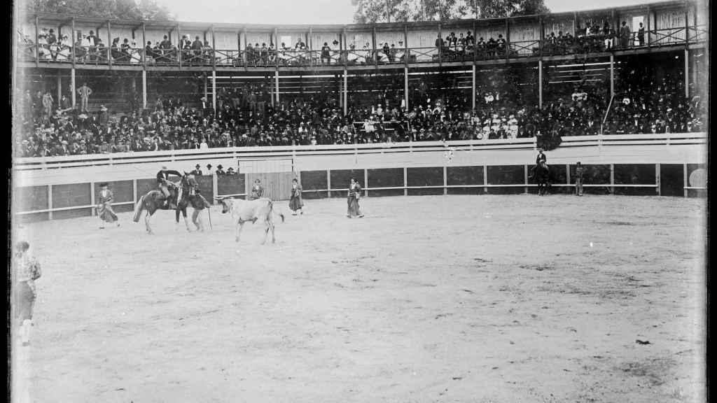 La cuadrilla de Niñas Toreras en el País Vasco en 1900