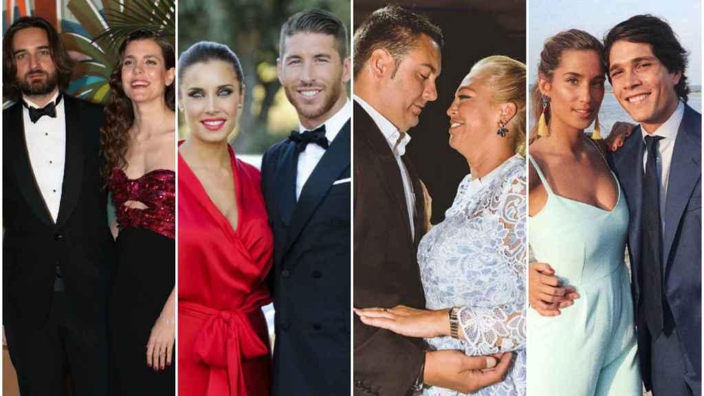 Este mes rostros de la realeza, la televisión y el mundo 'influencer' se dan el 'sí, quiero'.