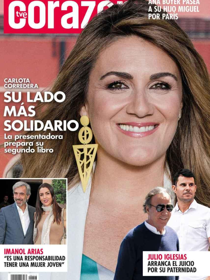 Portada de la revista 'Corazón TVE'.