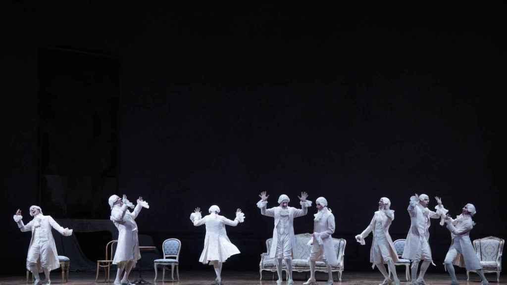 Un momento de Capriccio, de Richard Strauss, en el Real.