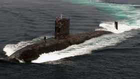 Submarino de la clase Trafalgar de la Royal Navy.