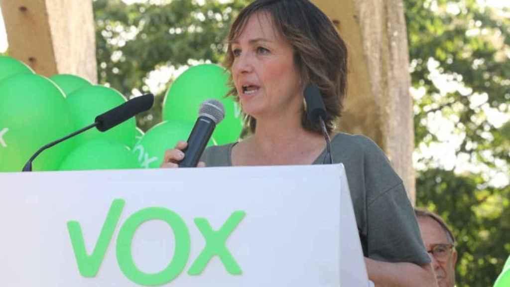 La diputada de Vox en la Asamblea de Madrid Gádor Joya.