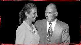 Juan Carlos siempre ha tenido el apoyo incondicional de su hija mayor, Elena.