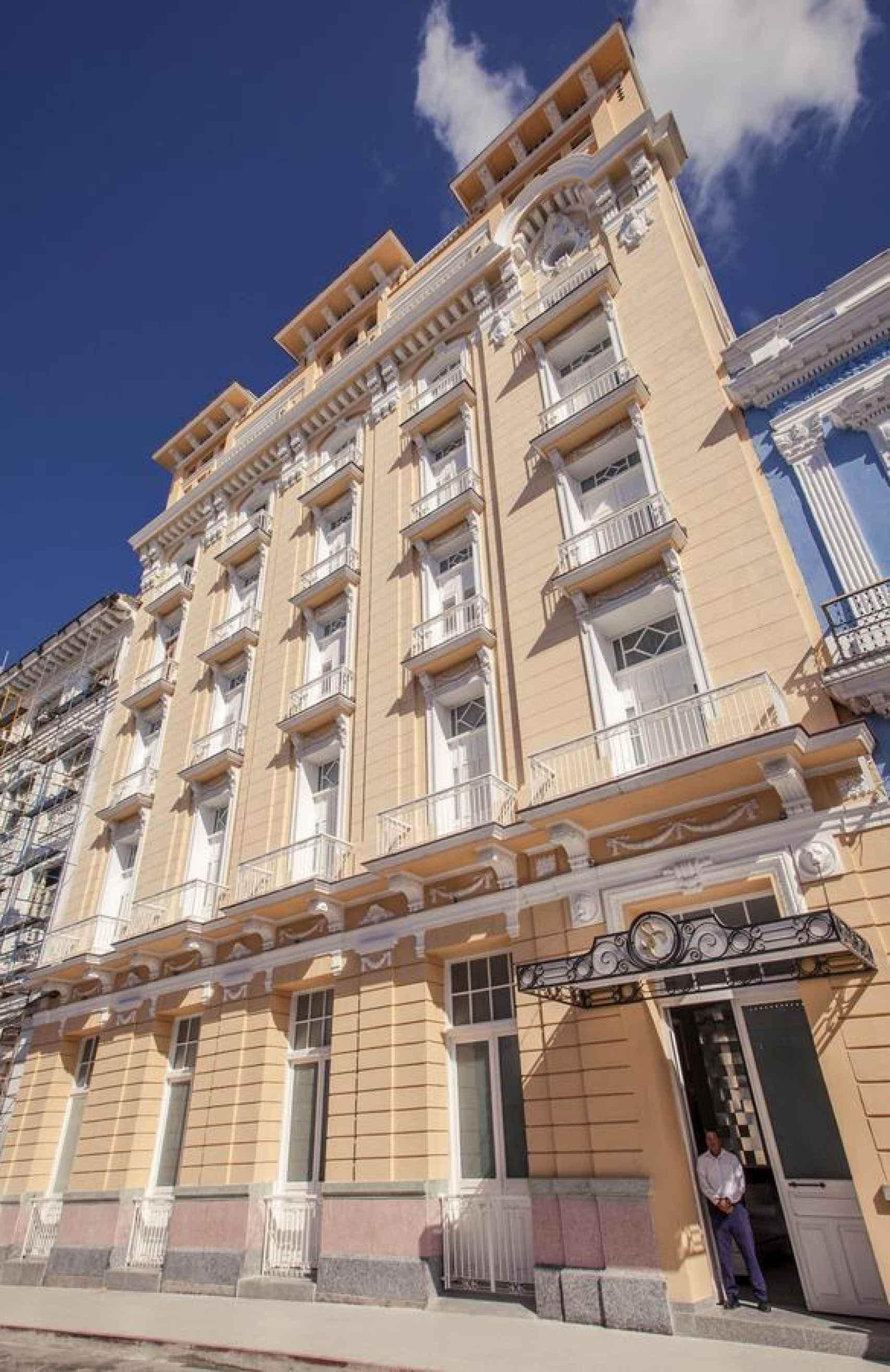 Estado actual del hotel, que está en manos del grupo Meliá.
