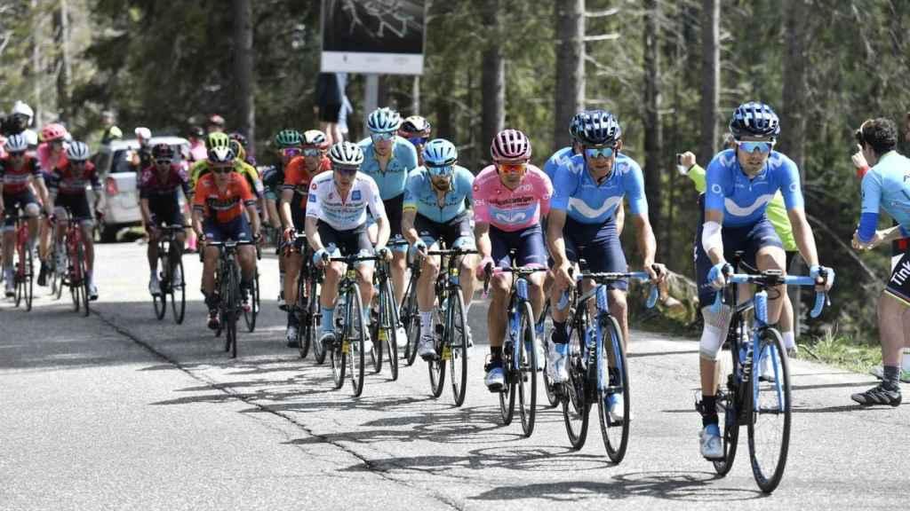 La etapa 20ª etapa del Giro de Italia. Foto: Twitter (@girodeitalia)