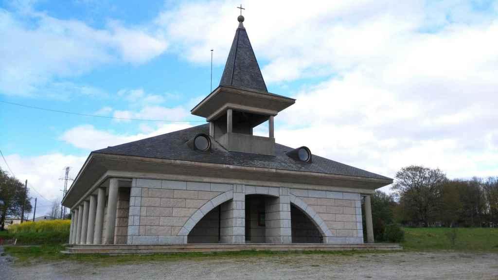 Iglesia de Santa Mariña de Muimenta (Cospeito).