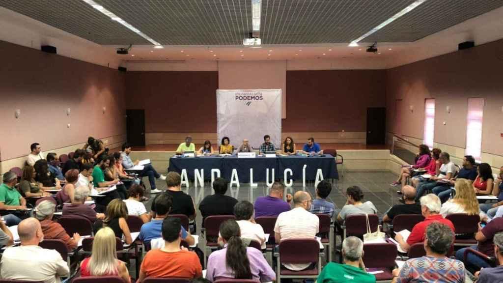 Reunión del Consejo Ciudadano de Podemos Andalucía.