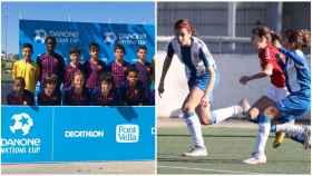 Barcelona y Espanyol se llevan la Danone Nations Cup 2019