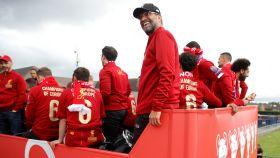 Klopp, en la celebración del Liverpool de la Champions League