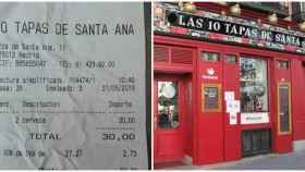 30 euros por dos cañas: tomadura de pelo viral a un hincha inglés en el centro de Madrid