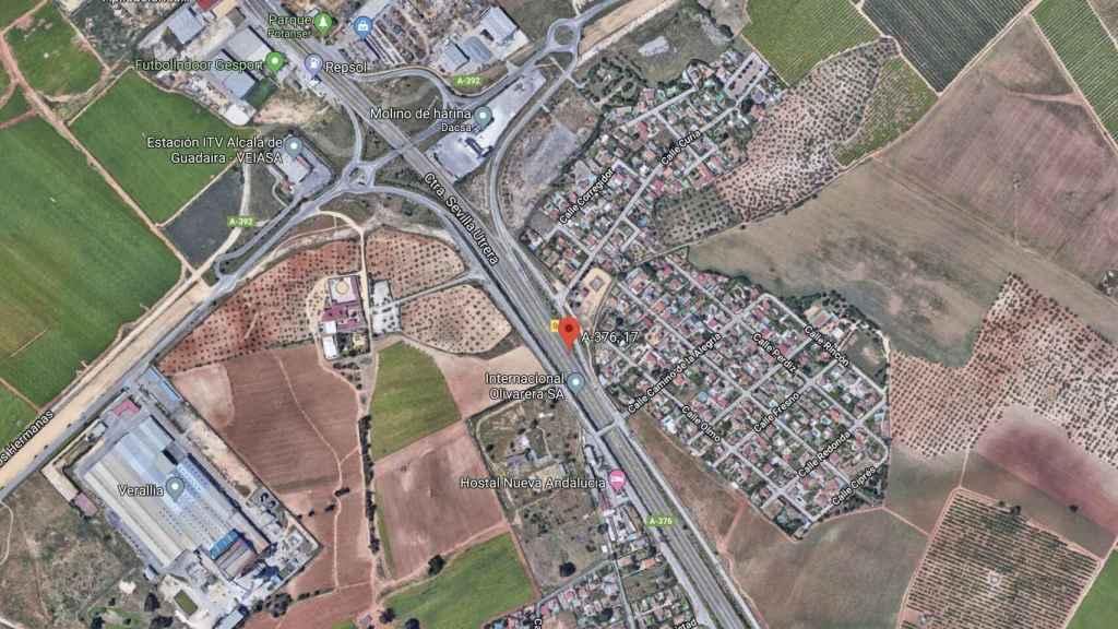 Autovía A-376 entre Sevilla y Utrera.