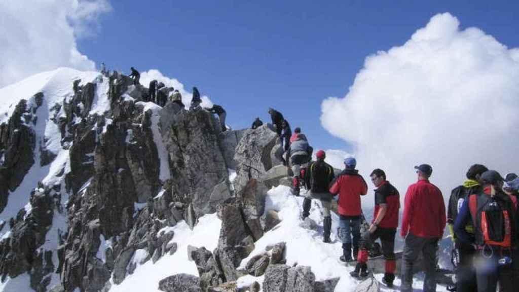 El pico del pico aragonés el verano pasado.