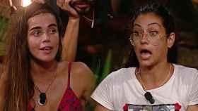 Dakota y Violeta durante su duro enfrentamiento en 'Supervivientes'.