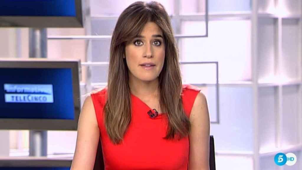 Isabel Jiménez en su vuelta a los Informativos