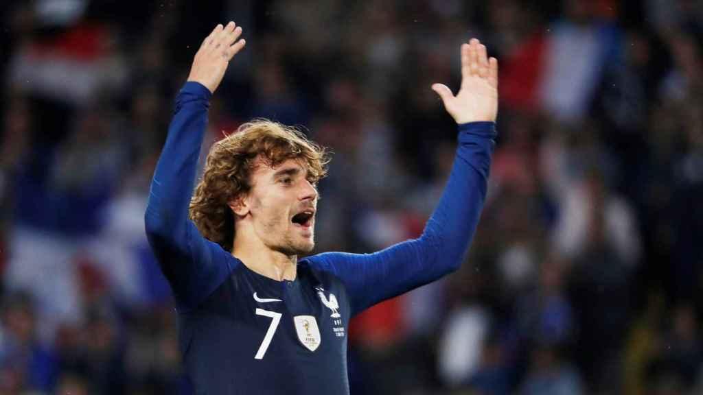 Griezmann celebra un Francia