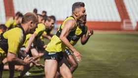 Imagen del último entrenamiento. Foto: Albacete Balompié