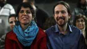 Teresa Rodríguez y Pablo Iglesias en una imagen de archivo.