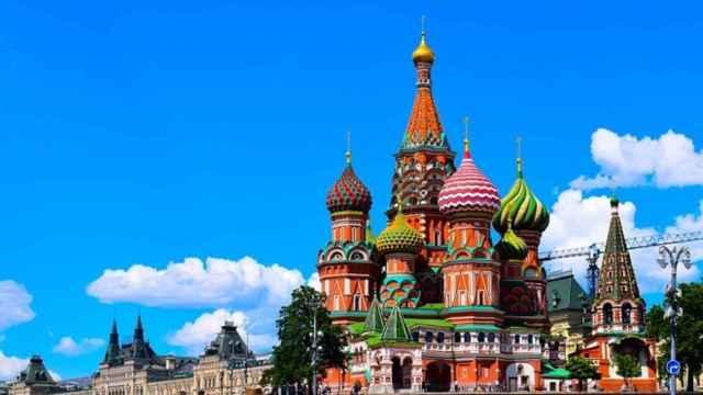 Panorámica del centro de Moscú.