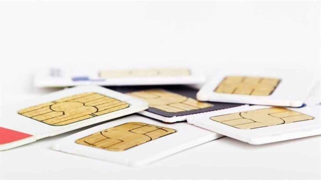 Varias tarjetas SIM duplicadas
