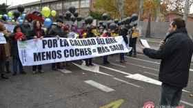 marcha ecologistas accion valladolid trafico contaminacion 8
