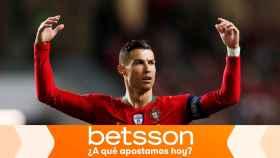 Cristiano Ronaldo, en un partido con Portugal