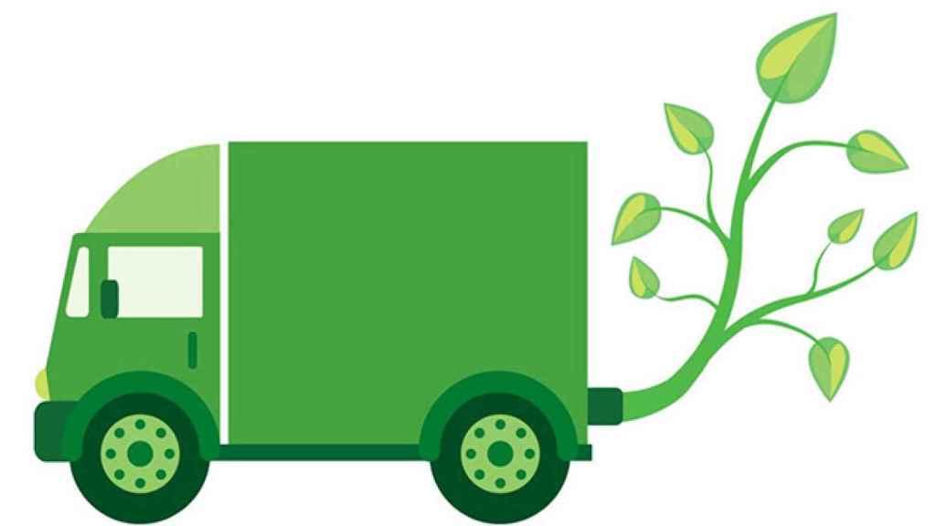 Transporte de mercancías más sostenible.