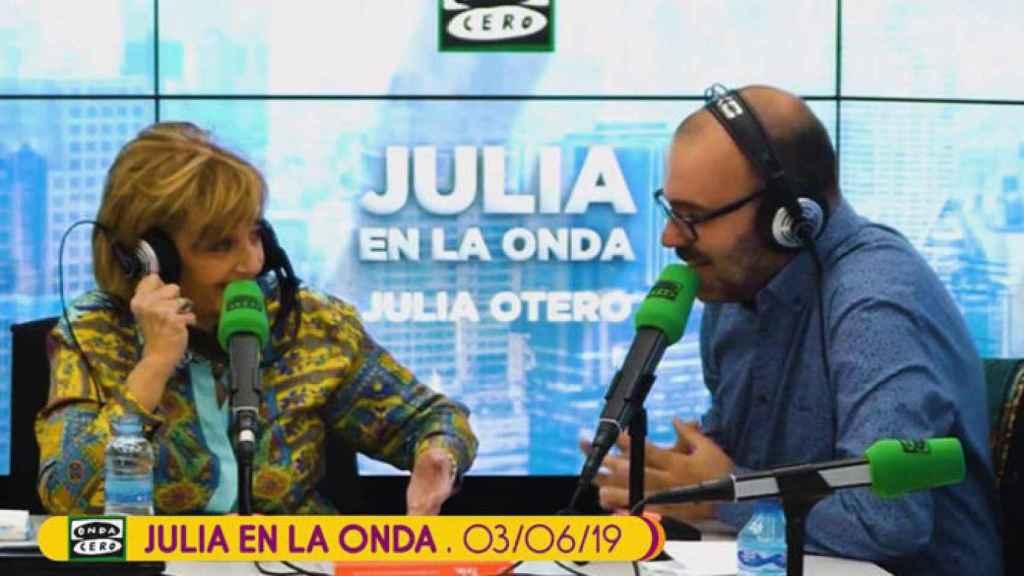 Teresa Campos en el programa 'Julia en la onda'.