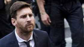 Messi en los juzgados