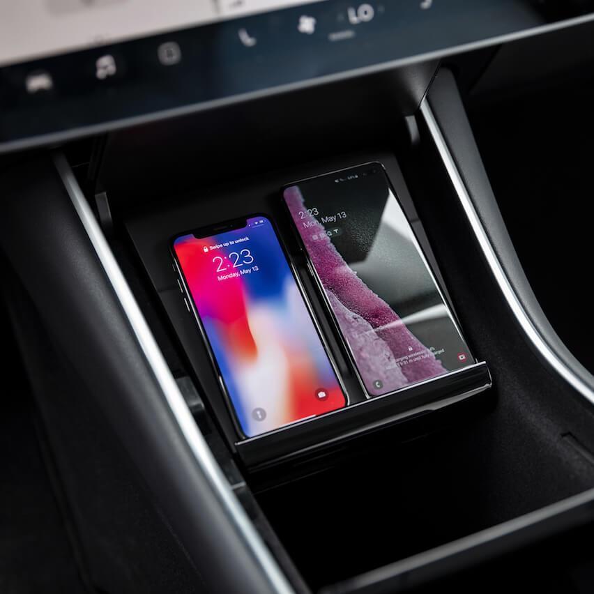 Cargador inalámbrico para móviles Tesla 2