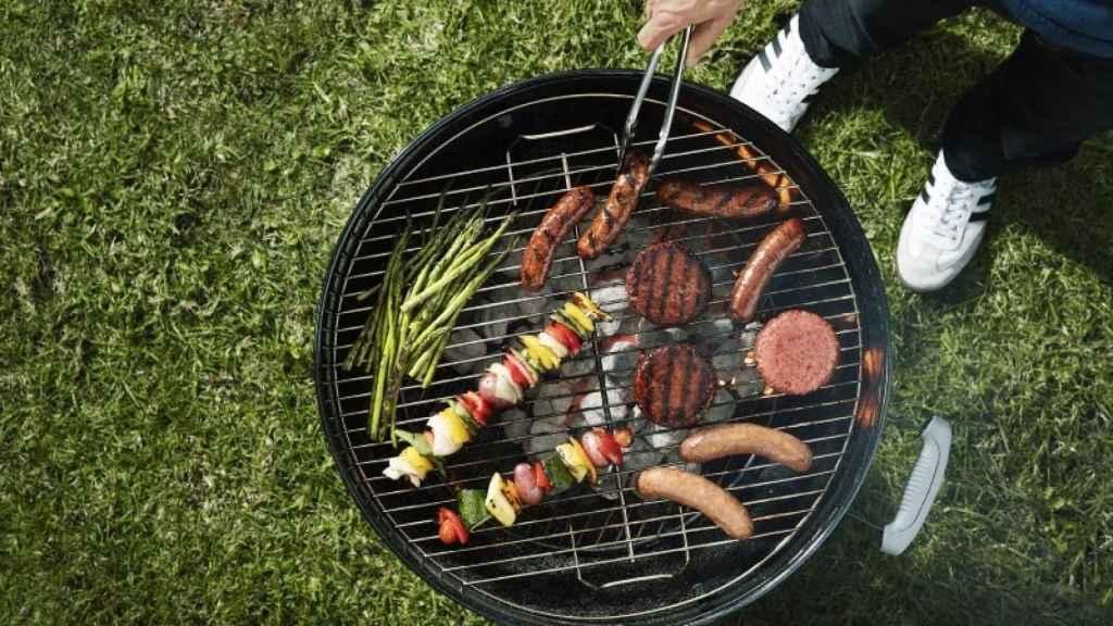 Nada en esta barbacoa es carne animal. Foto: Beyond  Burger